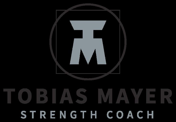 Tobias Mayer beim Personal Training - Logo